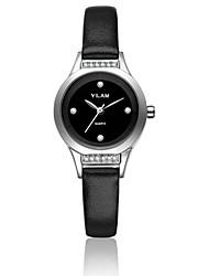 cheap -Vilam Women's Wrist Watch Water Resistant / Water Proof / Imitation Diamond Leather Band Sparkle / Fashion White
