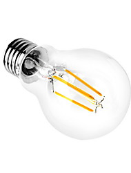 E26/E27 LED Globe Bulbs A60(A19) 4 COB 350-450lm Warm White Cold White 3000K/6000K Decorative AC 220-240 AC 110-130V