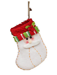 Holiday Props Holiday Supplies Holiday Decorations Gift Bags Toys Socks Santa Suits 1 Pieces