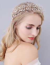 abordables -tiaras de cristal diadema elegante estilo femenino clásico
