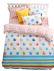 Mingjie Wonderful Blue and Pink Bedding Sets 4PCS for Twin Full Queen King Size from China Contian 1 Duvet Cover 1 Flatsheet 2 Pillowcases