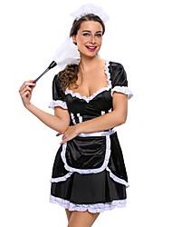 Tenus de Servante Costumes de carrière Costumes de Cosplay Costume de Soirée Féminin Halloween Carnaval Fête / Célébration Déguisement
