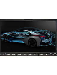 baratos -7inch 2 Din 800 x 480 Windows CE DVD Player Automotivo para Universal Sem fio Integrado / iPod / RDS - DVD-R / RW / DVD+R / RW / AVI