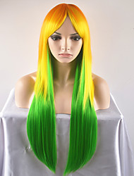 cheap -Synthetic Wig Straight Women's Capless Carnival Wig Halloween Wig Natural Wigs Long Very Long Synthetic Hair