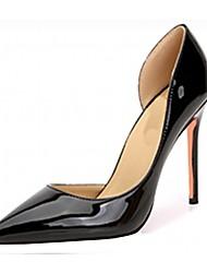Недорогие -Жен. Обувь Лакированная кожа Микроволокно Весна Лето Удобная обувь Босоножки Обувь на каблуках На шпильке Платформа Заостренный носок
