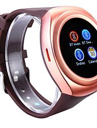 cheap -Nano SIM Card Bluetooth3.0 Android Hands-Free Calls / Media Control / Message Control / Camera Control 64MB Audio / Video Intelligent Watch
