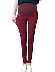 Maternity Solid Toddler Skinny Pants