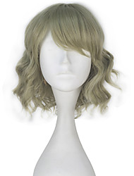 cheap -Cosplay Wigs Final Fantasy Cosplay Anime/ Video Games Cosplay Wigs 30 CM Heat Resistant Fiber Female
