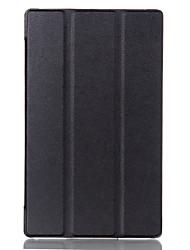 kst case voor tabblad lenovo 3 8.0 tab 3-850f / m lederen beschermhoes funda voor tabblad lenovo 2 a8-50 a8-50f tablet case