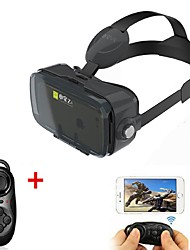 Black VR 3D Glasse Virtual Reality Headset BOBO VR for 4.7-6.2 Inch Smartphone with Gamepad