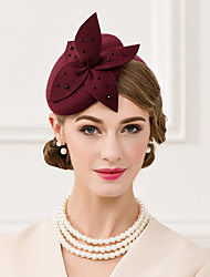 Wool Imitation Pearl Hats Headpiece
