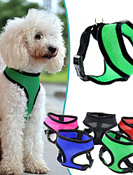 abordables -Perro Bozales Ajustable / Retractable Transpirable Un Color Nailon Malla Morado Rosa Rojo Verde Azul