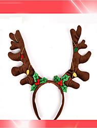 1PC Children'S Christmas New Brown Bell Hoop Hoop Christmas Gift