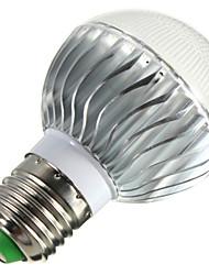 baratos -E14 B22 E26/E27 Lâmpada Redonda LED B 3 leds LED de Alta Potência Regulável Controle Remoto Decorativa RGB 400lm 2800-6500K AC 85-265V