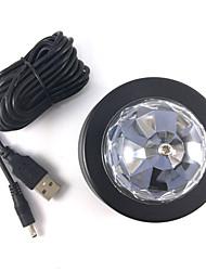 1шт 3wcar DJ водить автомобиль водить декоративные лампы автомобиля RGB LED DJ лампы