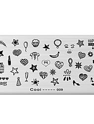 cheap -1 Stamping Plate Nail Stamping Template Daily Fashion High Quality