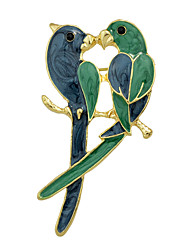 cheap -Fashion Enamel Bird Lovers Big Brooches for Women