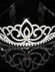 Women's Rhinestone Crystal Headpiece-Wedding Special Occasion Tiaras