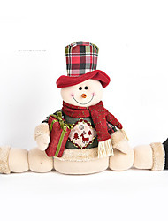 Недорогие -Костюмы Санта Клауса Снеговик Рождественский декор Мультяшная тематика Мода Высокое качество Милый текстильный Девочки Мальчики Подарок