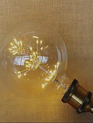 E26/E27 LED Globe Bulbs 49 Dip LED 220 lm Yellow 2300 K Decorative AC 220-240 V