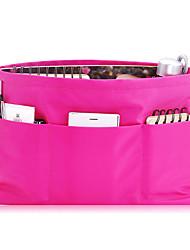 Cosmetic Bag Makeup Storage Solid Nylon