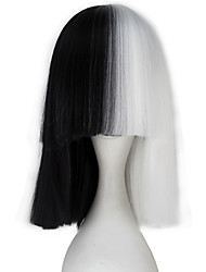 cheap -Lolita Wigs Sweet Lolita Dress Black Princess Lolita Lolita Wig 38cm CM Cosplay Wigs Solid Color Wig For