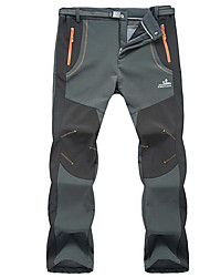 Pantalons de Ski Homme Femme Ski Sports d'hiver Etanche Garder au chaud Pare-vent Anti statique Nylon Pantalon / Surpantalon