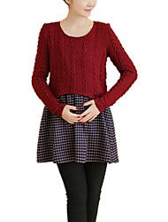 お買い得  -女性用 シンプル Aライン ドレス ソリッド ミニ