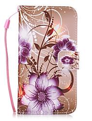 economico -Custodia Per Samsung Galaxy S8 Plus S8 Porta-carte di credito A portafoglio Con supporto Custodia posteriore Fiore decorativo Resistente