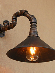 AC 110-130 / AC 220-240 40 E26/E27 Rustic/Lodge / Country Black Oxide Finish Feature for Bulb Included,Ambient Light Wall SconcesWall