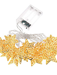 cheap -Holiday Light Stars LED Strip 20 Lamp Balls/Set LED String For Wedding Party Fairy Lights Christmas Decoration