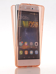 cheap -TPU Full body Protective Clear Cover Case for Huawei Ascend P8 Lite