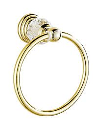 Portasciugamani ad anello Contemporaneo Cristallo 16 20 Incorporato