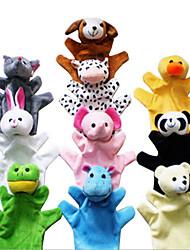 Недорогие -Мягкие игрушки Игрушки Rabbit Слон Утка Мышь Кожа ящерицы Оригинальные Плюш Девочки Мальчики 3 Куски