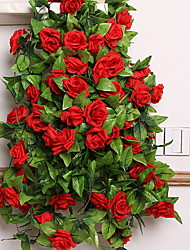 cheap -Artificial Flowers 1 Branch Simple Style Roses Wall Flower