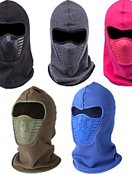 cheap -Men's Women's Balaclava Winter Fall/Autumn Thermal / Warm Windproof Skiing Camping / Hiking Hunting Climbing Snowsports Fleece Solid Color