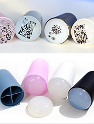 1Pcs Super Soft Silica Gel Nail Seal Printing Tools Fingernail Coloured Drawing Or Pattern Is Special Color Random