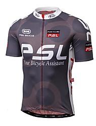 Maglia da ciclismo Per uomo Manica corta Bicicletta Maglietta/Maglia Top Asciugatura rapida Resistente ai raggi UV Anti-radioazioni
