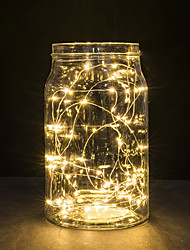 cheap -30 LEDs Copper Wire lights 3M string lights for christmas light festival wedding party or Home decoration lamp