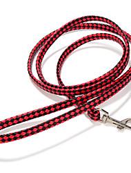 Недорогие -Собака Поводки Регулируется / Выдвижной Ручная работа Однотонный Кожа PU Белый Черный Красный Зеленый Розовый