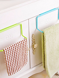 cheap -Kitchen Supplies Wardrobe Plastic Towel Rack Removable Hanging Wash Cloth Organizers Sponge Holder Multifunction Storage Rack