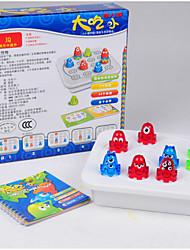 Недорогие -Настольная игра Обучающая игрушка Хобби и досуг Рыбки Пластик Зеленый Коричневый
