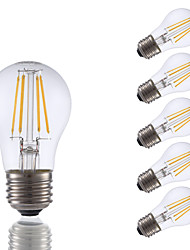 E26 LED Filament Bulbs A15 4 COB 350 lm Warm White 2700 K Dimmable AC 110-130 V