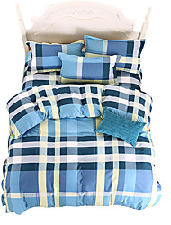 Mingjie Wonderful Blue Stripes Bedding Sets 4PCS for Twin Full Queen King Size from China Contian 1 Duvet Cover 1 Flatsheet 2 Pillowcases