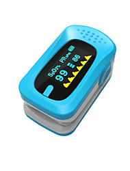 cheap -Ying Shi Finger Pulse Oximeters Manual LCD Display with  Voice / Memory Storage Battery White / Red / Green / Blue / Orange