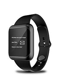 abordables -Pulsera inteligente para iOS / Android Monitor de Pulso Cardiaco / Medición de la Presión Sanguínea / Calorías Quemadas / Standby Largo / Llamadas con Manos Libres Seguimiento de Actividad / 64MB