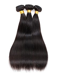 cheap -3 bundles Indian Straight Human Hair Weave Extensions 300g Full Head Set 8inch-28inch