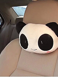 Car Headrest  Cute Cartoon Panda  Plush Car With Pillow  The Head Pillow Cushion and Pillow For Car  (Random Type)