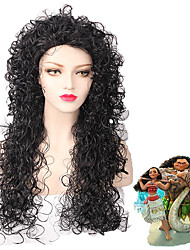 cheap -Black/Grey Ombre Color Wave Beauty Natural Wig for European and American Women Daily Wearing Heat Resistant Fashion New Design