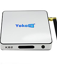 Yoka TV KB2 Android 6.0 Box TV Amlogic S912 2GB RAM 32Go ROM Huit Cœurs